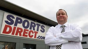 Mike Ashley's company Sports Direct said full year earnings are expected to come in at £285 million, compared to the £300 million originally pencilled in