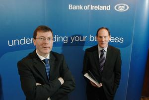 "Storm warning: Alan Bridle, chief economist at the Bank of Ireland, said the 'Brexit' would have a ""net negative effect"" on the province."