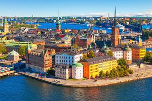The Old Town (Gamla Stan) in Stockholm, Sweden
