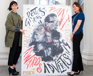 Nuala Meenahan (left), organiser of the PANI Awards, joined its chairperson Siobhan Lavery to launch this year's awards programme