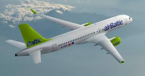 Bombardier has delivered two of its CSeries passenger jets to eastern European airline Air Baltic