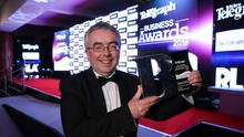 Martin Agnew of Henderson Group, Business of the Year winner 2016