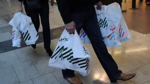 John Lewis said sales surged 36% in the week before Christmas, but then slumped