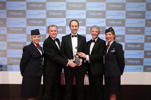AJ Power was the big winner at the Belfast Telegraph Business Awards last year. Simon Ballentine from the company was presented with the award by Richard McClean, Belfast Telegraph managing director, Keith Williams, the executive chairman of BA, and BA ambassadors Christine Wright and Jayne Deasy