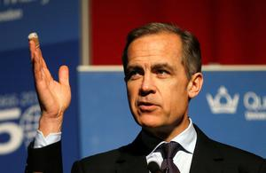 Speech: Mark Carney yesterday