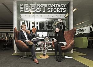 Nigel Eccles, co-founder and chief executive of the online fantasy sports company, FanDuel
