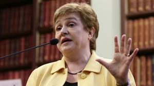 """Kristalina Georgieva said that the growing frequency of financial, economic and terror-related emergencies is becoming the """"new normal"""""""