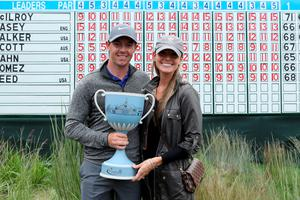 Rory McIlroy with Erica Stoll