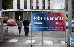 Another 200 people claimed unemployment benefit the latest figures show.