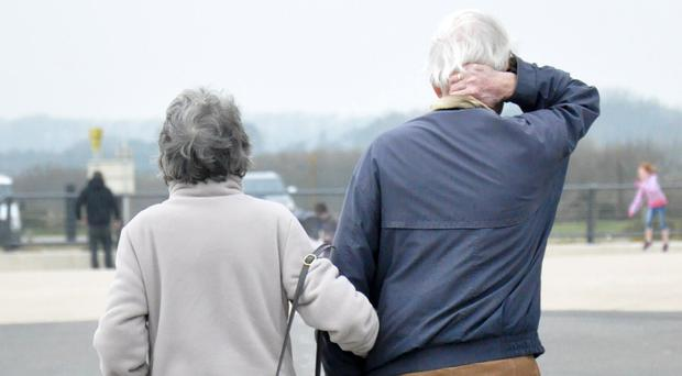 Overall, in 2016 to 2018 life expectancy in Northern Ireland was 82.4 years for women and 78.7 years for men (stock)