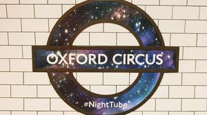 Some 6,500 passengers tapped in at Oxford Circus on Saturday night