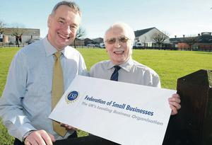 The FSB's John Friel (right) has unveiled plans for a special village at this year's Balmoral Show