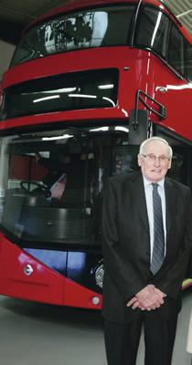 William Wright of Wrightbus has won the 2014 Innovation Founder Award