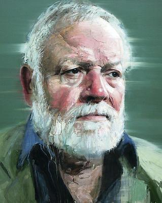 Artworks associated with the Royal Ulster Academy which could hang in a new gallery at Riddel's Warehouse: portrait of poet Michael Longley by Colin Davidson