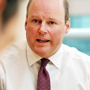 Stephen Hester is completing his last day in charge at RBS.
