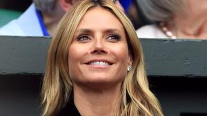 """Heidi Klum said she is """"proud"""" to partner with Lidl on the fashion range"""