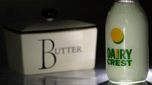 Dairy Crest said cream prices, which determine input costs for its butter business, have risen 'substantially' during the first quarter
