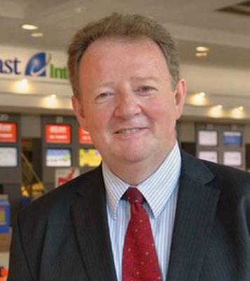 "Belfast International Airport's managing director Graham Keddie said the route was ""not a concern"" and remained confident about its future here, despite the high levels of Dublin to New York traffic"