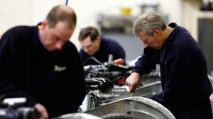 Figures show output in the Scottish economy was up 0.7% on the same quarter last year