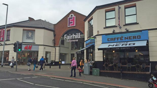 Fairhill Shopping Centre is on the market