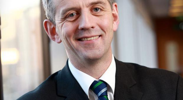 Eamonn Donaghy of KPMG, who has led the campaign for Northern Ireland to be able to set its own rate of corporation tax