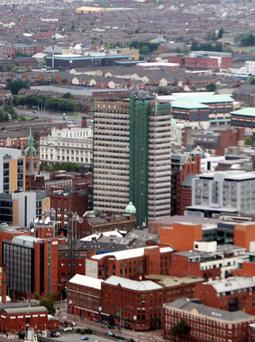 Windsor House office building in Belfast city centre has been sold to the Hastings Group