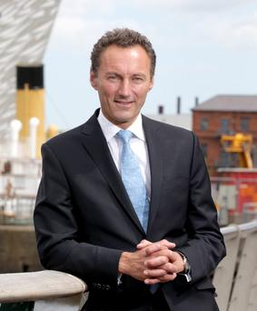 David Gavaghan revealed further ambitions for the Titanic Quarter area earlier this month