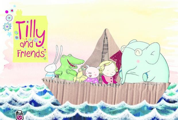 Some images from hit shows Tilly and Friends, Baby Jake and Roy produced by Jam Media