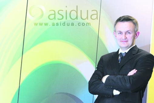 Contract success: Asidua chief executive Steve Brankin