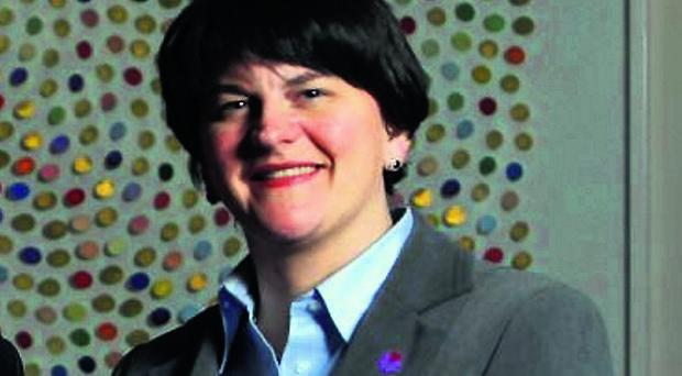 Enterprise Minister Arlene Foster launched the scheme yesterday