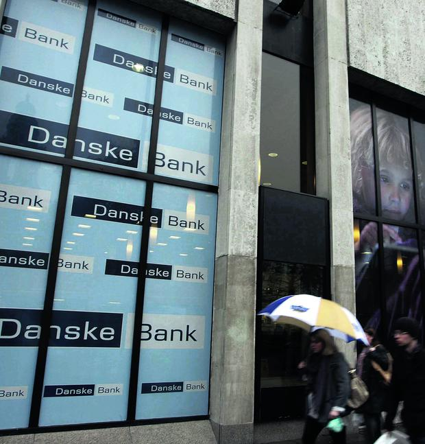 Danske Bank has considerably reduced its losses
