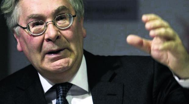 Bank of England governor Mervyn King delivers an optimistic forecast