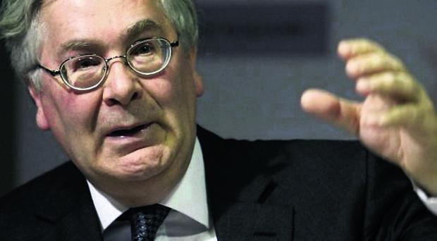 Bank of England Mervyn King