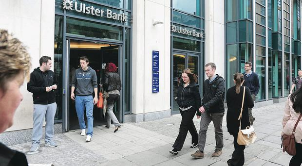 Business as usual: Stephen Hester's departure will mean a new boss at Ulster Bank