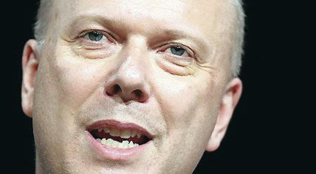 Angry: Chris Grayling
