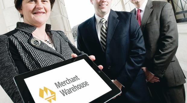 Enterprise Minister Arlene Foster has announced that Merchant Warehouse is to set up a Technology Development and Customer Support Centre in Belfast creating 70 quality jobs.