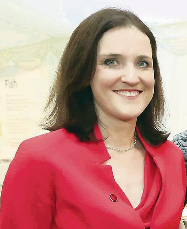 Theresa Villiers is determined to leave a positive G8 legacy