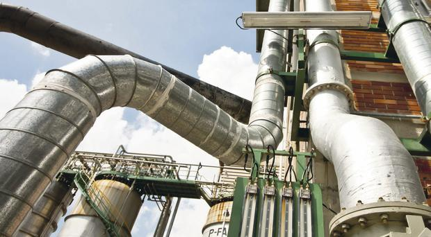 Heavy duty: Companies could see 3% added to their gas bills as the reduced rate of tax ends