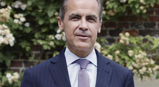 Mark Carney has said interrest rates will not rise quickly