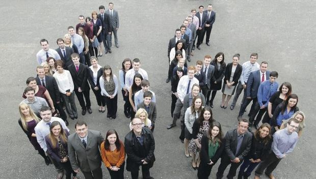 New recruits who have been taken on by Randox Laboratories
