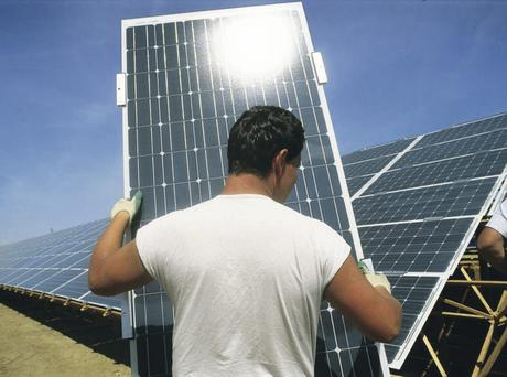 Solar energy is becoming much more popular