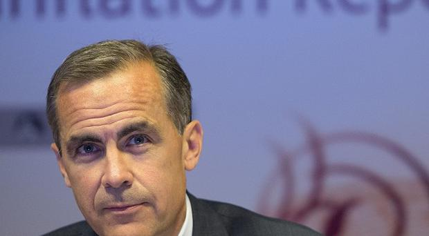 Bank of England governor Mark Carney. If inflation fails to come down as expected, it could hit his plans for interest rates.