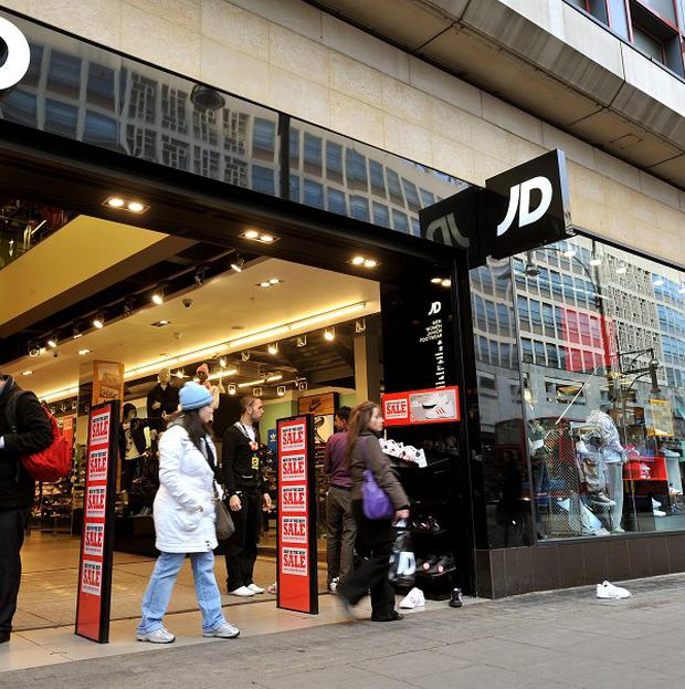 JD Sports has around 10 stores in Northern Ireland