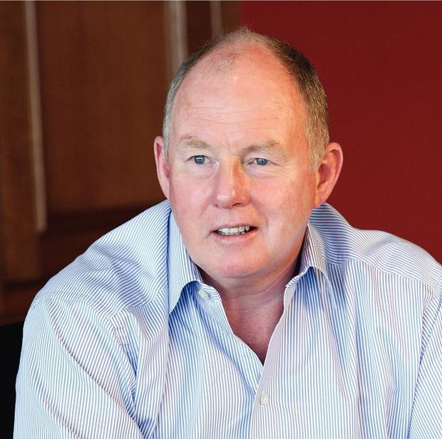 Redrow chairman Steve Morgan said Britain's planning system was a