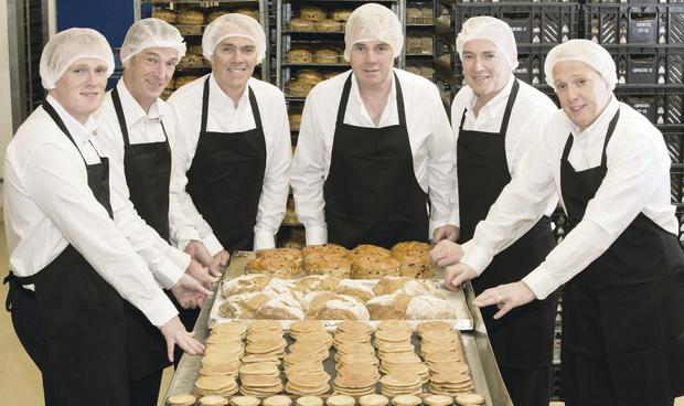Baker's half-dozen: The McErlain brothers are behind the Genesis Crafty brand which creates some of the best sellers in the country