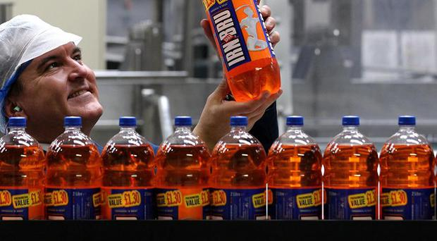 Irn-Bru maker AG Barr said it grew sales by 5.8% to £128.7 million in the six months to the end of July.