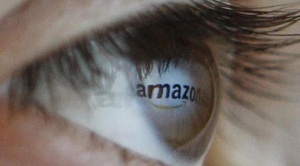 NOTE TO EDITORS. This photograph has been flipped using Photoshop so the logo reads correctly. Amazon is creating 15,000 seasonal posts.