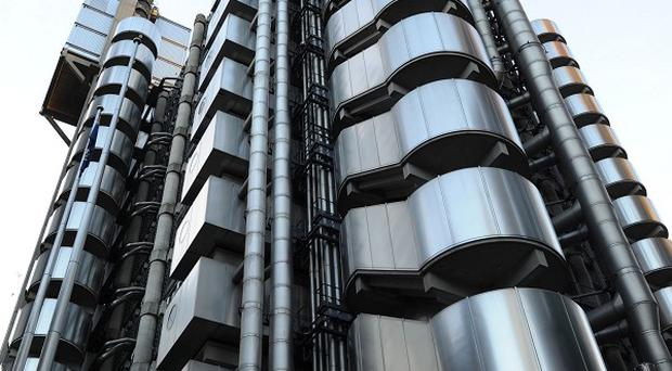 Insurance market Lloyd's of London today posted half-year profits of £1.4 billion.