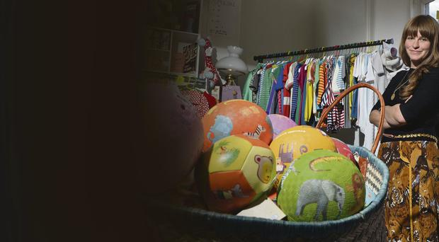 Market leader: Alicia Peyrano children's clothing and toy shop, Little Citizens Boutique, focuses on cultural diversity, striking design and high quality