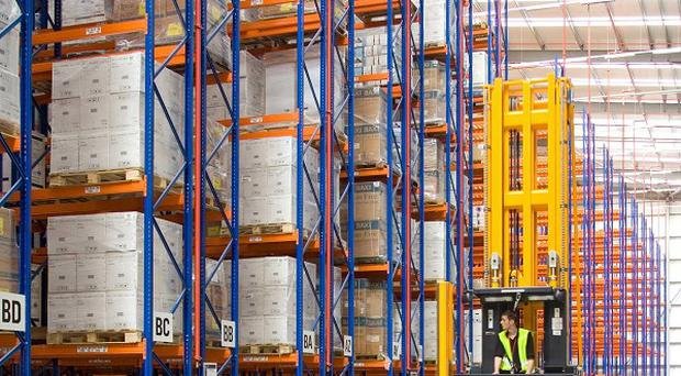 Building supplies firm Wolseley said underlying UK revenues rose by 2.5% in the last financial year.